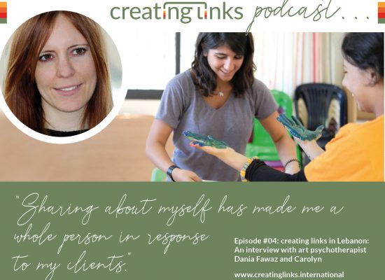 Episode 04: creating links in Lebanon: Interview with the art psychotherapist Dania Fawaz